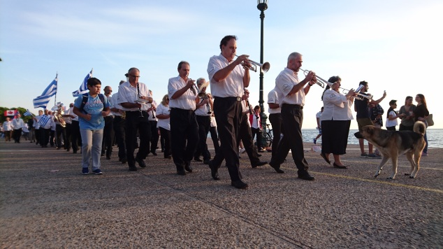 banda musicale lungomare salonicco